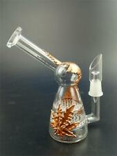 Glass Water Pipe Small Glass Bong Two Layer Filter Hookah