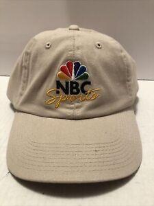 NBC SPORTS TV Logo Embroidered adj. hat cap