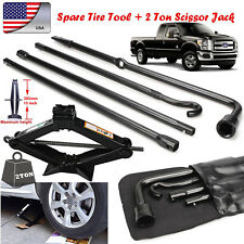 For Ford F-150 Premium Spare Tire Tool Kit Lug Wrench Extension w/ Scissor Jack