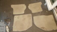 ford focus mk2 set of floor matts cloth type front rear CC CONVERTIBLE 05-2010