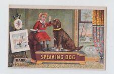 Speaking Dog Trade Card