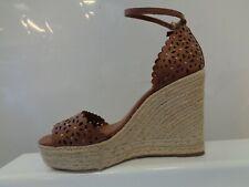 Dune Kamilea Floral Cut Out Stud High Wedged Espadrille Ladies  UK 5 REF M347=