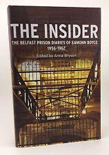 ANNA BRYSON Ed. The Insider Prison Diaries Eamonn Boyce 1st/1st Signed Aylward