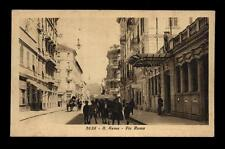 cartolina SANREMO via roma