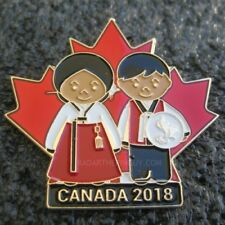 2018 PyeongChang Canada Paralympic Committee Dated Pin