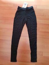 Icebreaker Leggins Skin 200, Donna, 100% pure merino - Art. IBSKLE01 (Nero)