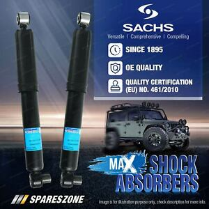 Front Sachs Max Shock Absorbers for Isuzu D-Max MU-X TF TFR 10/08-20