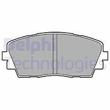 DELPHI LP2296 BRAKE PAD SET DISC BRAKE Front