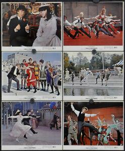 HALF A SIXPENCE '67 ORIGINAL 8X10 LOBBY CARD SET OF 12 TOMMY STEELE JULIA FOSTER