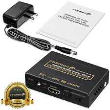 Fosmon HDMI to HDMI RCA SPDIF Toslink Digital Optical Audio Extractor Converter