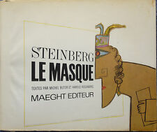 Steinberg - LE MASQUE - Maeght - 1966