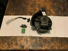 Corsa d heater blower motor With Resistor And Wire Plug