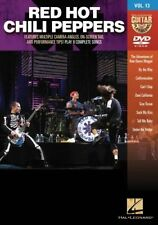 Red Hot Chili Peppers Guitar Play Along 9 Songs! DVD NEW!