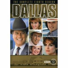 Dallas TV Series Season 8 DVD Box 6 Disc Set Special Features Like New Eighth
