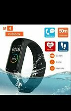 M4 Smart Watch Fitness Tracker Heart Rate Monitor Sport Bracelet Health Band