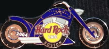 Hard Rock Cafe BOSTON 2004 BIKE NIGHT #3 Blue MOTORCYCLE PIN #6 - HRC #25940