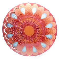 Sunset 12 inch Metal Wind Spinner Stunning Color