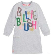 NEW Billieblush Grey Logo Sweatshirt Dress Size Age 12 NWT