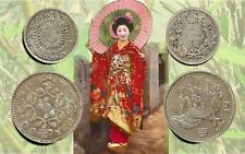 JAPAN:- 2 different early - mid 20th century Silver circulation coins. JP243