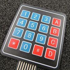 4x4 Matrix Array 16 Tasten Tastatur Folientastatur für Arduino Raspberry Pi flex
