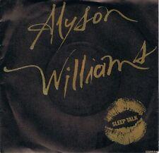 "ALYSON WILLIAMS Sleep Talk 7"" Single Vinyl Record 45rpm Def Jam 1989 EX"