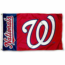 Washington Nationals Flag 3x5 MLB Banner