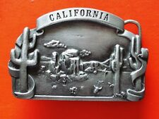 1978 VINTAGE Californie Bergamote laiton Works Co.boucle ceinture