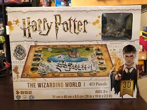 Harry Potter The Wizarding World 4D Puzzle -892 Pieces