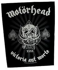 Motorhead Parche de espalda Victoria Rock Heavy Metal Cuero Denim BACKPATCH Lemmy