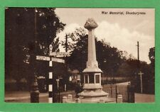 Shoeburyness War Memorial pc unused Ref H948