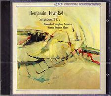 Benjamin Frankel Symphony No. 2 & 3 Werner Andreas Albert CPO 2002 cd sinfonie