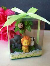 18PC Baby Shower Animals Safari Party Favors Figurines Noahs Jungle Decorations