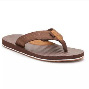 Dockers Men/'s Skipper 360 Flip-Flop Thongs Sandals SIZE 12 $70