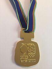 1972 Sapporo JAPAN WINTER  OLYMPICS SOUVENIR GOLD MEDAL RARE!!!
