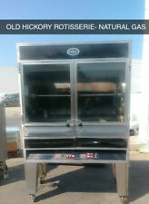 Old Hickory N77g Natural Gas Large Batch Rotisserie Oven