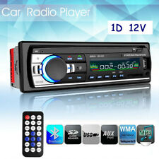 Car Stereo Audio BT In-Dash FM Aux Input Receiver SD USB MP3 Radio Player