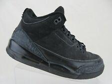 5e04e769259 NIKE Air Jordan III 3 Retro Black Cat Sz 9.5 Men Basketball Shoes