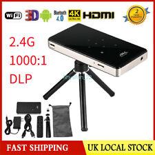 2000 : 1 4k Smart DLP Mini Projektor Android WIFI bt4 1080p 16g Home Theater HDMI