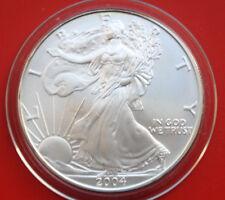 "Amerika: 1 Uz.-Oz ""Silver Eagle""  2004 Seidenmatt, ST-BU,  #F 2036"