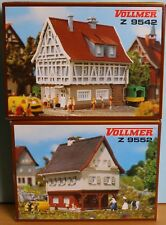 Vollmer 49542, 49552, - Spur Z - , 2 Bausätze (Kunststoff) , Vollmer 9542, 9552
