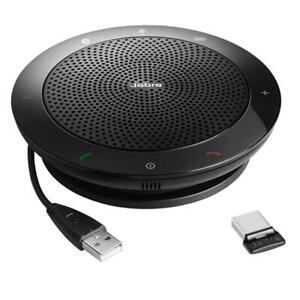 Jabra Speak 510+ MS USB Bluetooth Speakerphone with USB Bluetooth Adapter