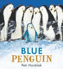 Blue Penguin by Petr Horacek c2016, NEW Hardcover