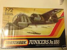 MATCHBOX 1/72 40109 JUNKERS JU 188 AIRCRAFT MODEL KIT SEALED