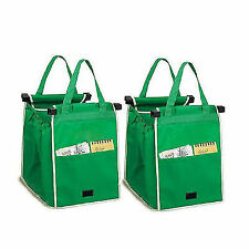 Reusable Grocery Bag Supermarket Shopping Bags Eco Friendly Foldable Large Carts
