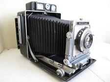 4x5 Busch Pressman Model D w/Kodak Ektar 127mm f4.7 Lens Press Camera