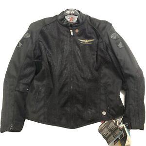 Joe Rocket Womens Skyline 2.0 Honda Goldwing Mesh Motorcycle Jacket 1 Diva Liner