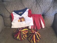 Dan Dee cheerleader outfit with pom pom's build a bear option