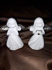 2  Engel aus Polyresin, NEU mit betenden Händen, Dekotipp!!