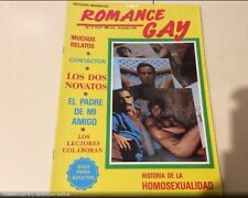 ROMANCE GAY Nº 2  Magazine  vintage gay Spain 1987
