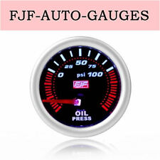 "Pop Style 2""52mm Oil Pressure Gauge 0-100psi For Most Cars"